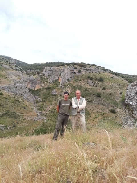 Con Juan Pablo González de la Vega ( Cazorla)